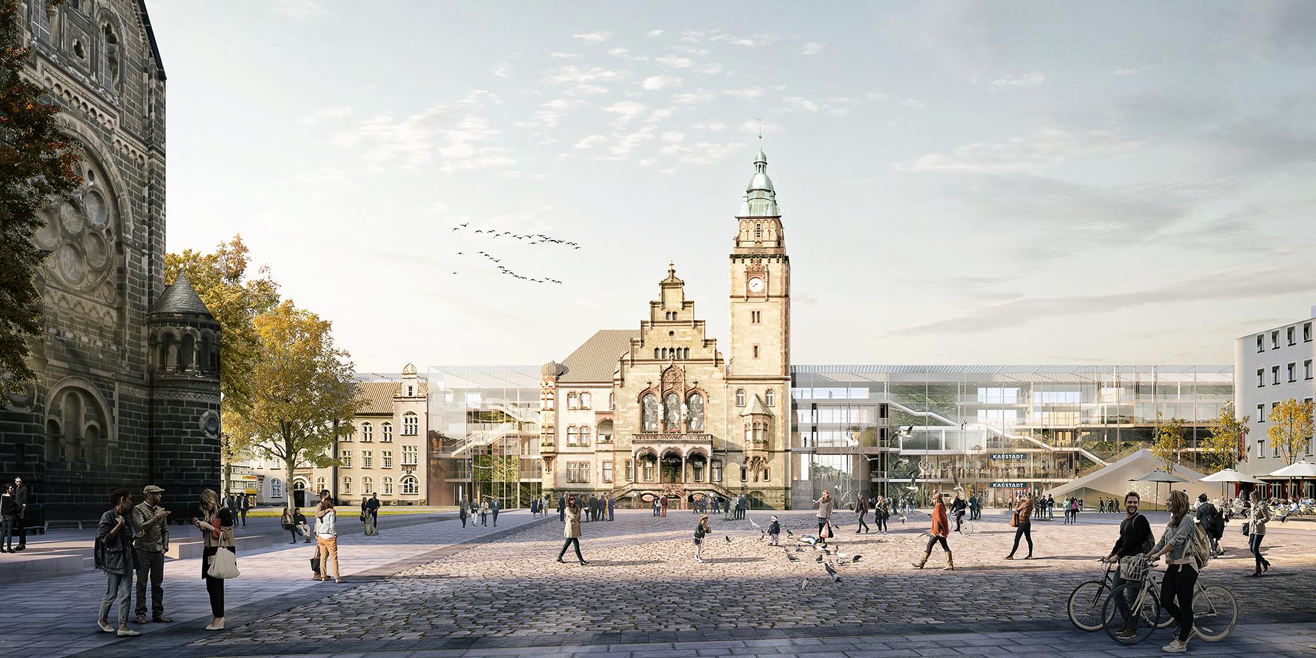 Rathaus der Zukunft mg+